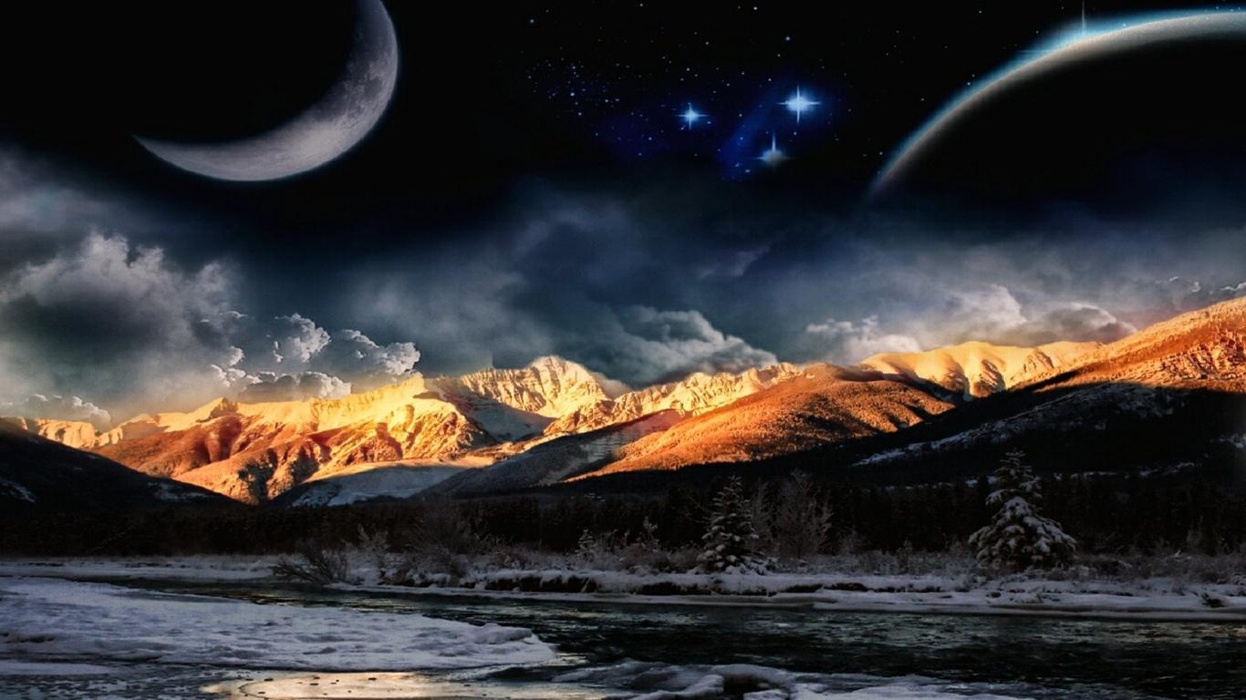 Sfondi Spazio Pianeti Nebulose Immagini Del Cosmo