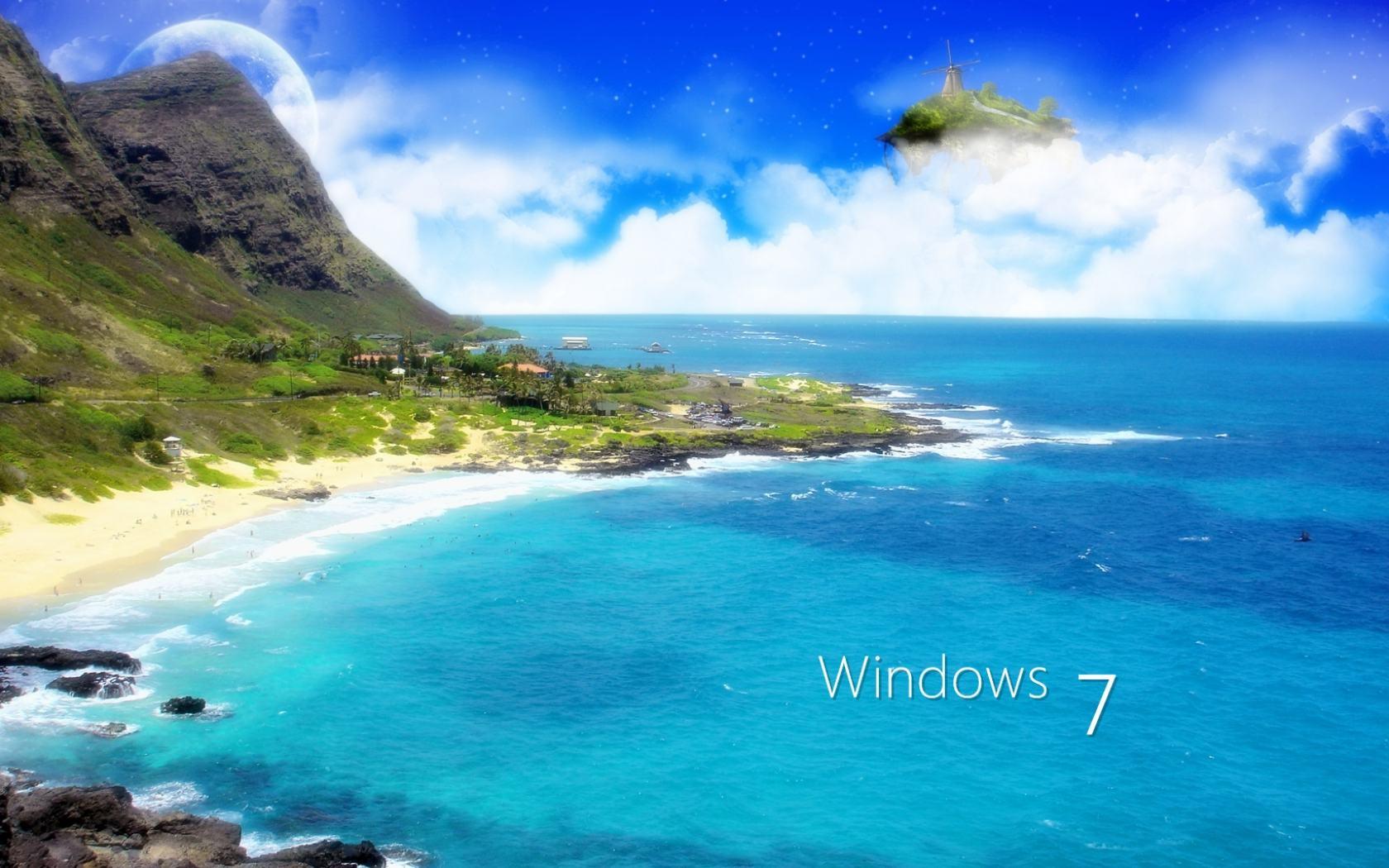 Скачать стандартные обои windows 10
