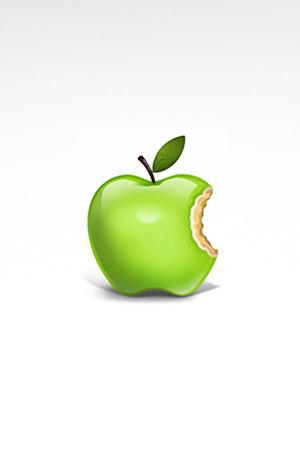 sfondo mela verde
