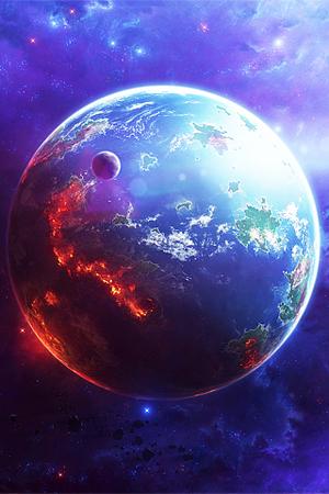 sfondo pianeta