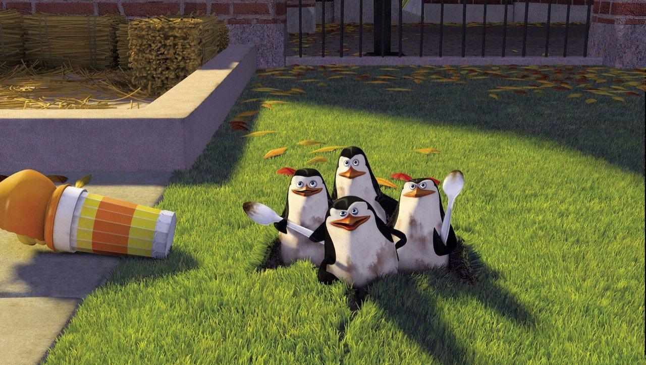 Sfondi e wallpapers dei cartoni animati e film animazione - Pinguini di natale immagini ...