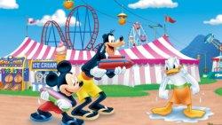 pluto topolino e paperino al circo