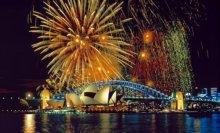 Australia Sydney Fuochi d'artificio