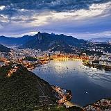 Sfondo citta Brasile Rio de Janeiro Guanabara