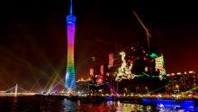 viste notturne Cina Guangzhou