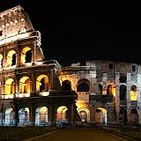 Sfondo Hd Colosseo di Notte