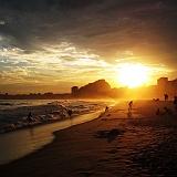 Copacabana Rio de Janeiro beach