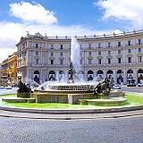Roma Piazza della Repubblica Fontana delle Naiadi