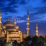 Turchia Istanbul Moschea del Sultano Ahmet