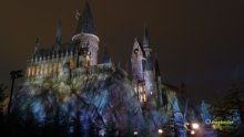 Paesaggi in Notturna castello