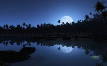 Paesaggio Notturno lago