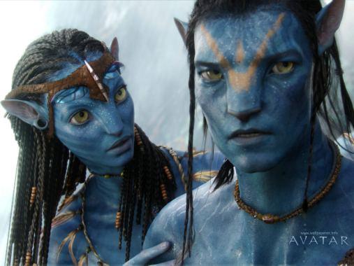Sfondo Avatar di fantascienza del 2009