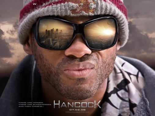 Hancock è un film del 2008, commedia di supereroi interpretata da Will Smith