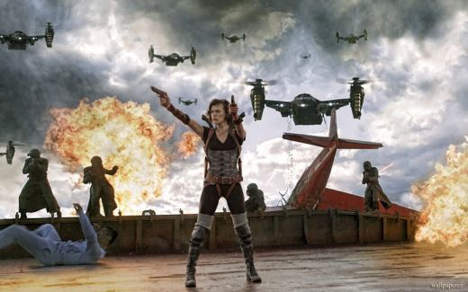 Resident Evil: Retribution è un film del 2012