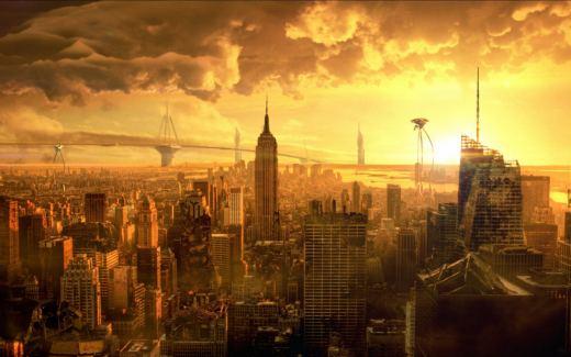 La guerra dei mondi film fantascienza, diretto da Steven Spielberg ed interpretato da Tom Cruise.