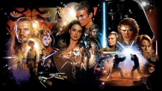 Star Wars - Guerre stellari è una saga cinematografica