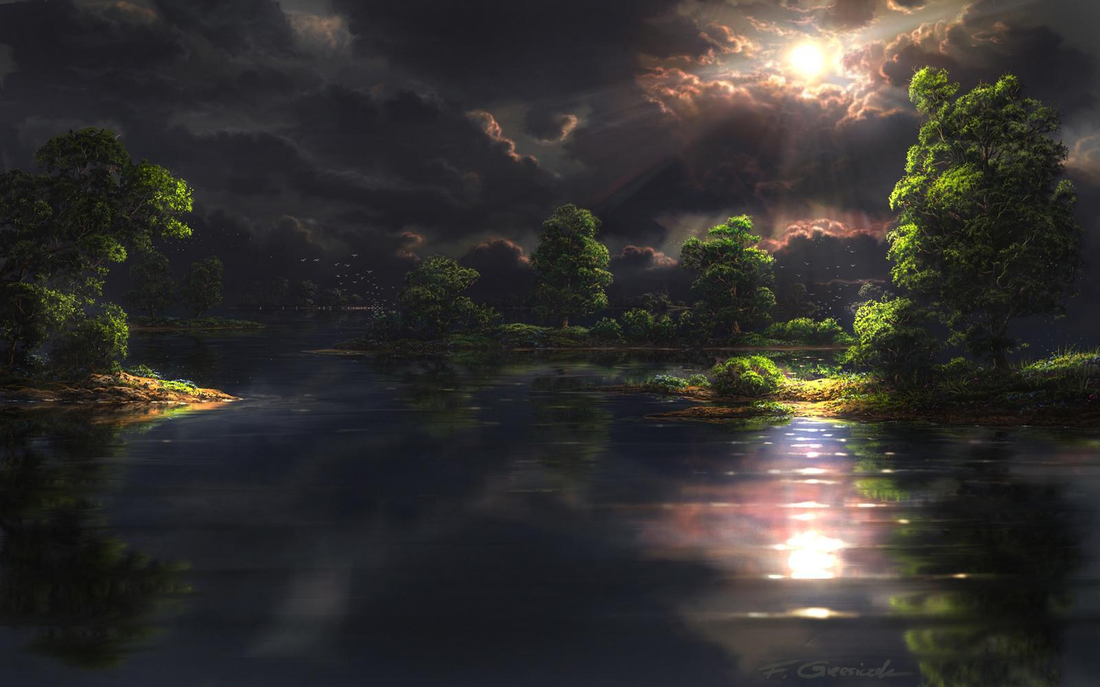 Sfondi natura raccolta di paesaggi tramonti e panorami for Sfondi hd natura