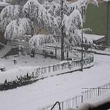Paesaggio antropico Neve Torre Boldone Bergamo