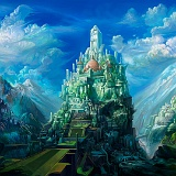 Wallpapers paesaggio castelllo incantato