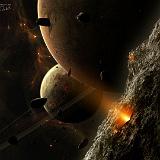 paesaggio spaziale