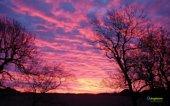 panorama tramonto