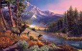 sfondo natura con animali