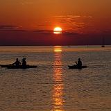 tramonto sfondo alta definizione