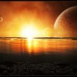 tramonto sfondo per desktop