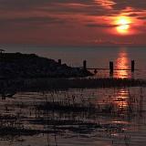 tramonto vista mare