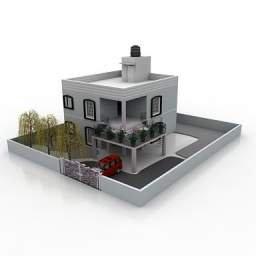 immagini tridimensionali casa