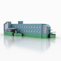 edificio in 3D