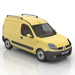 Renault free model 3d