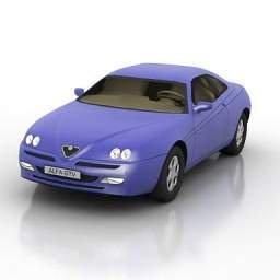 Alfa Romeo GTV 6 Modello 3D