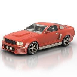 auto color rosso