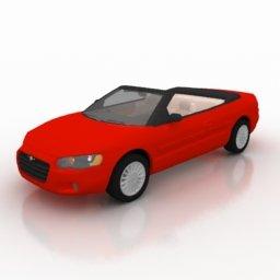 Immagine autovettura cabriot per la grafica