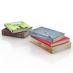 volumi di 5 libri immagine per grafica