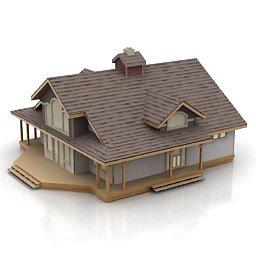 immagini vettoriali di una casa