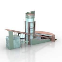grattacielo 3D
