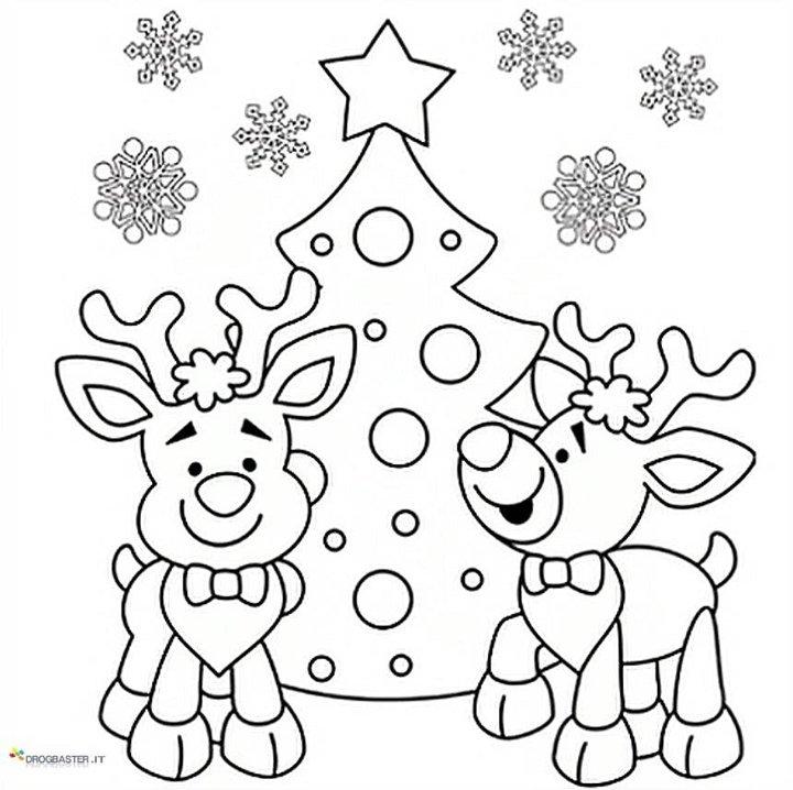 Disegno Di Natale Da Colorare Stampae Colorare