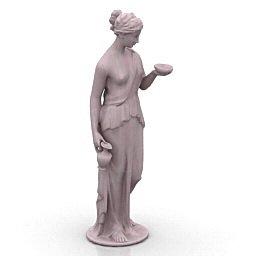 statua 3d