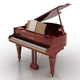 strumenti musicali 3d