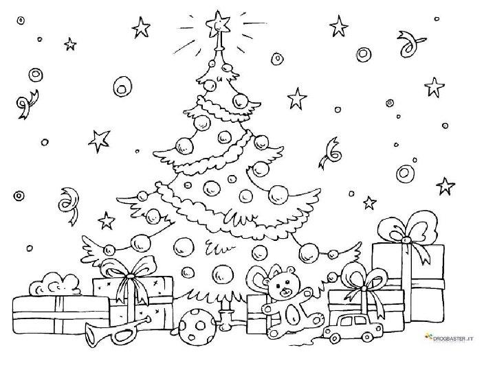 Disegni del natale immagini dell 39 albero di natale for Disegni facili di natale