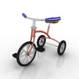 triciclo 3d