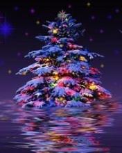 Immagini Natale Glitter.Albero Di Natale Gif Animate Glitterate Immagini Natalizie