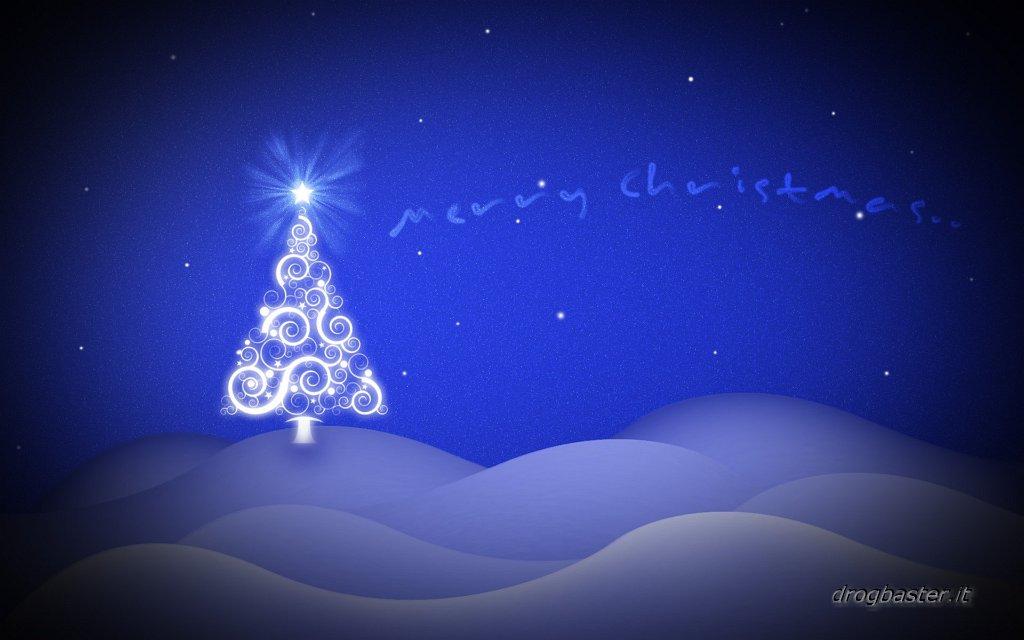 Sfondo natalizio animato gratis
