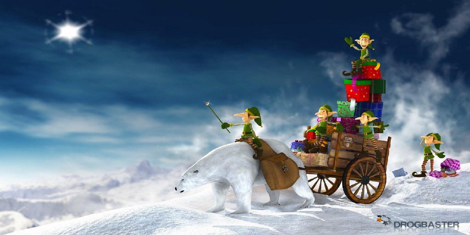 Sfondi wallpapers tema natalizio sfondi di natale gratis for Natale immagini per desktop