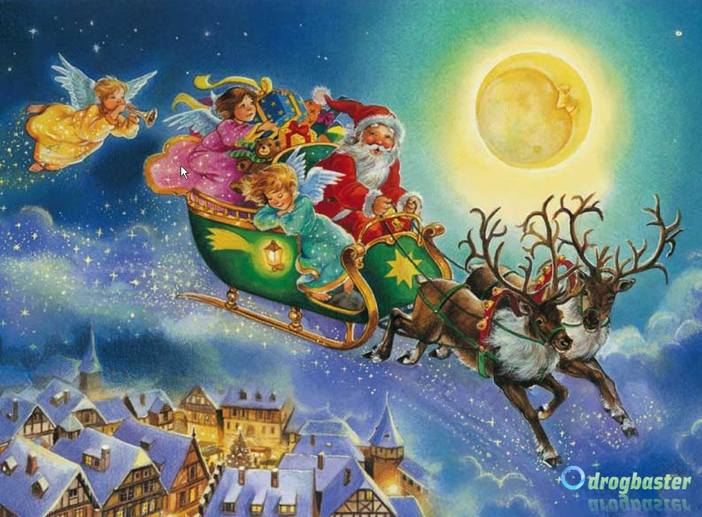 Babbo Natale X Desktop.Wallpaper Gratis Per Il Natale Sfondi Desktop Natalizi