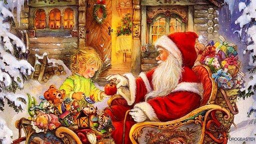 Sfondo di Babbo Natale