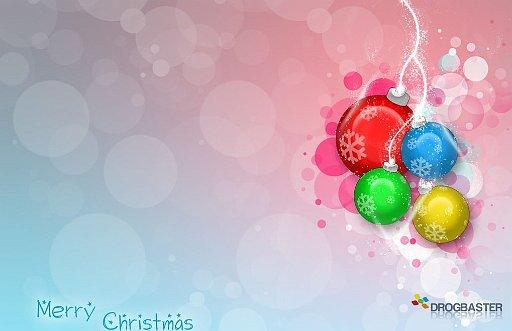 Sfondo con decorazioni natalizie