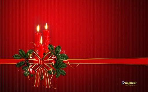 Sfondo con decorazione di Natale